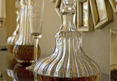 How to Clean a Glass Decanter