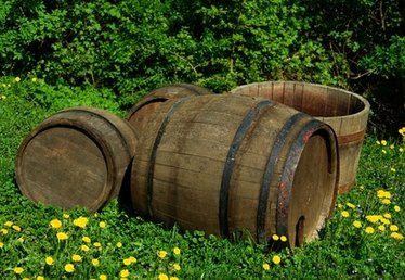 How to Make an Oak Barrel Water Feature