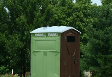 Treatment for a Portable Toilet