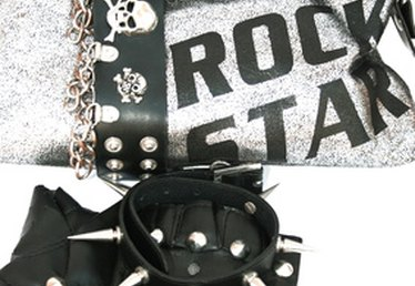 How to Make a Homemade Rock Star Costume