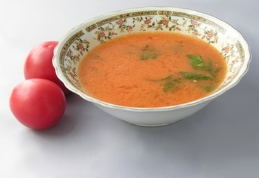 How to Add Cream to Tomato Soup