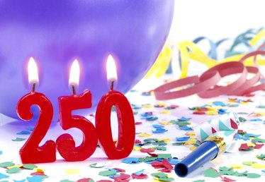 What Is the Term for a 250th Anniversary?