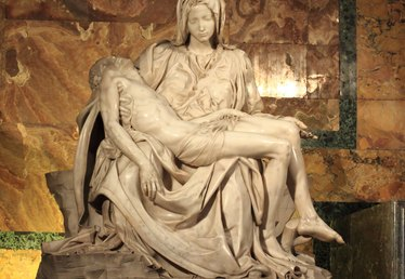 The Elements of Design Used in Michelangelo's Pieta
