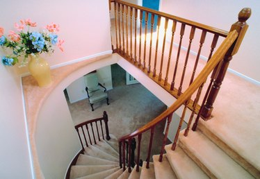How to Install a Stair Runner on Winding Stairs