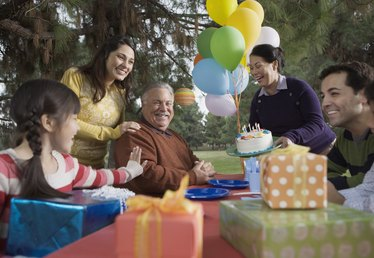 Gifts & Ideas for a 60th Birthday
