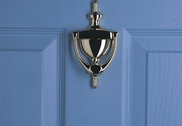 How to Paint Previously Stained Fiberglass Doors