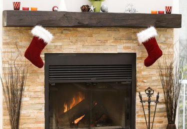 How to Drill Into a Brick Fireplace