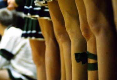 How to Make a Pleated Cheerleader Skirt