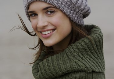 How to Loom a Slouchy Hat