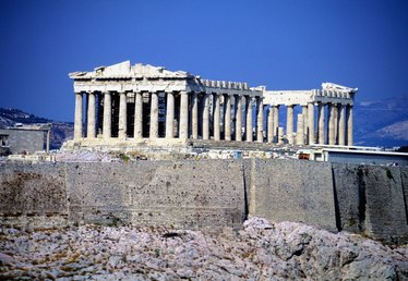 Ancient Greek Temple Art Projects for Children