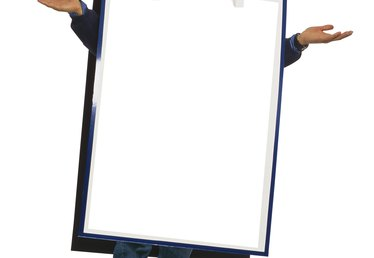 How to Make a Sandwich Board Sign for Kids