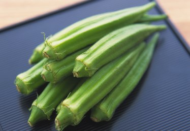How to Tell When Okra Is Ripe