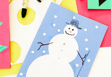 Snowman Craft Project Ideas