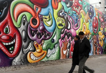 The Salary of Mural Artists