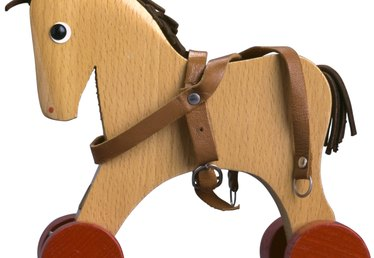 How to Create a Mane and Tail for a Wooden Horse