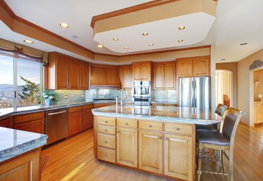 What Do You Call the Drop Ceiling Above Kitchen Cabinets?