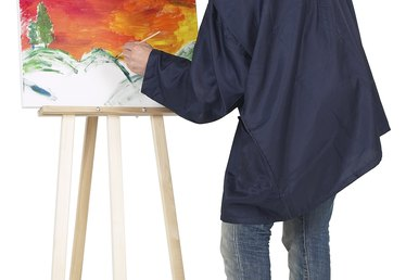 How to Create a Blurry Background in Paintings