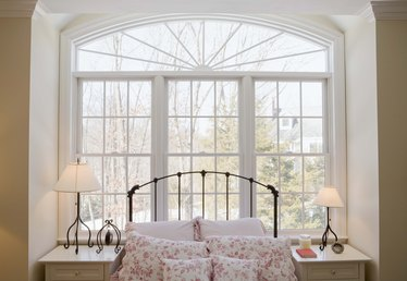 How to Arrange a Bedroom with Windows on Three Walls