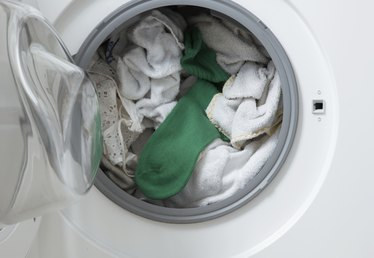 A Front Load Washer With a Sour Smell