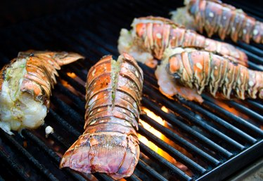 How to BBQ a Lobster Tail