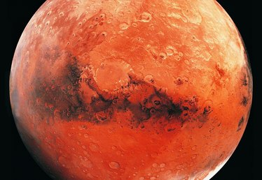 How to Paint a Styrofoam Ball of Mars