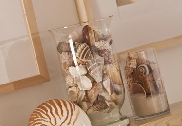 How to Make Seashells and Sand in a Jar