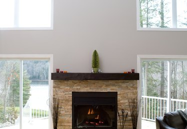 How to Build a Floating Fireplace Mantel
