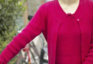 How to Knit the Shape of an Armhole