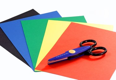 How to Make a Book With Construction Paper for Kids