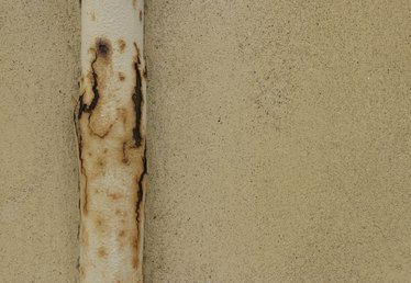 How to Paint Rusted Gas Pipes Outside