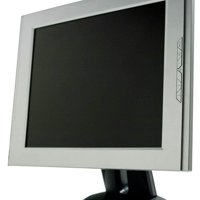 Cómo restablecer un monitor a color Dell