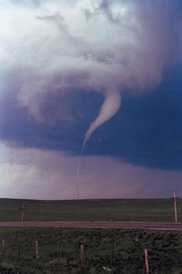 """Twister"" pits man versus nature."