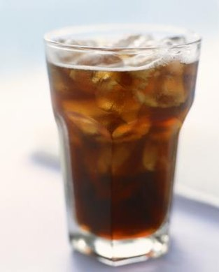 Carbon dioxide gives soda its fizz.