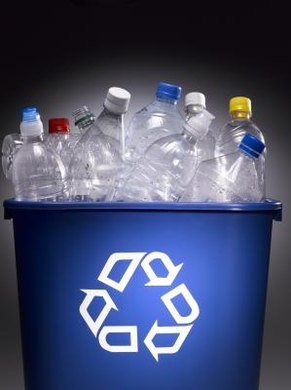 Recycling plastics keeps materials out of landfills.
