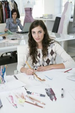 With a degree in fashion design, you may work under another designer or for yourself.