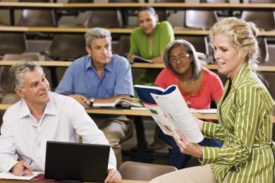 A GED preparation course may help you study for the test.