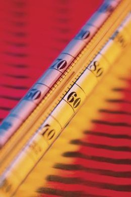 Thermometer designs vary, but share some common elements.