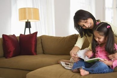 Hearing an adult read helps a child learn to read better.