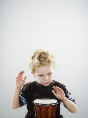 Sensory experiences pique a child's interest.