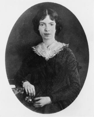 "Emily Dickinson could ""think"" a moor, or a heaven, into existence."