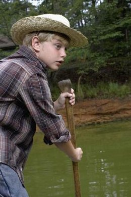 """The Adventures of Huckleberry Finn"" is about triumphing over evil."