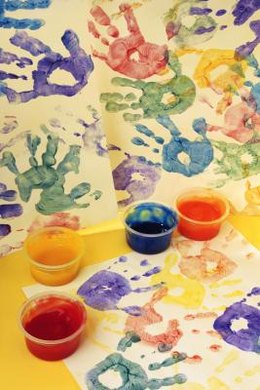 Make a hundred handprints.