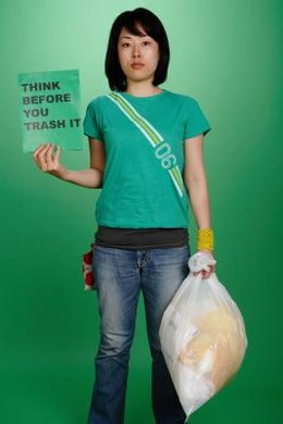 Recycling plastic bags reduces their environmental impact.