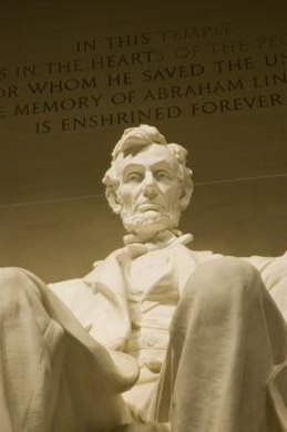 The Lincoln Memorial is in Washington, D.C.