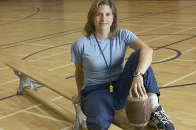 P.E. teachers cover sports, health, nutrition and physical fitness.