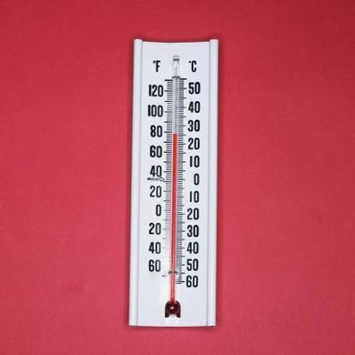 Use a thermometer that's simple for students to read.