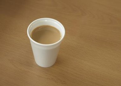 Coffee may be hot, but it probably won't melt a plastic cup.