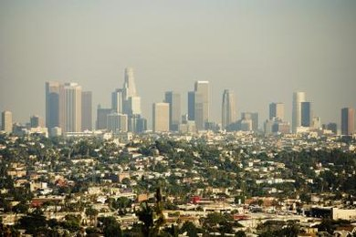 Sunny, dry climates like Los Angeles are blanketed in photochemical smog.