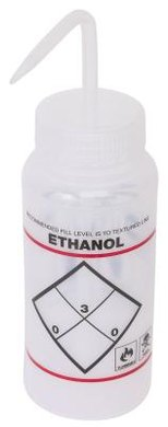 Ethanol has two types of atomic bonds.