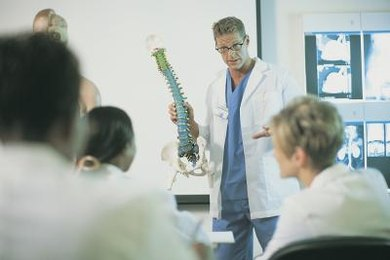 In medical school, future gastroenterologists will take courses in general medicine, including human anatomy and pathology.